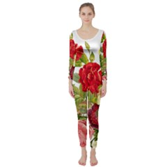 Flower Bouquet 1131891 1920 Long Sleeve Catsuit