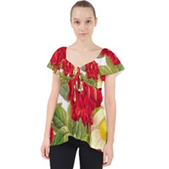 Flower Bouquet 1131891 1920 Lace Front Dolly Top