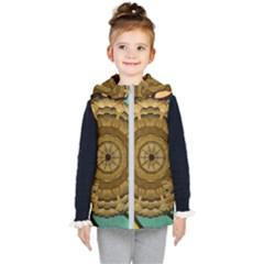 Kaleidoscope Dream Illusion Kid s Puffer Vest