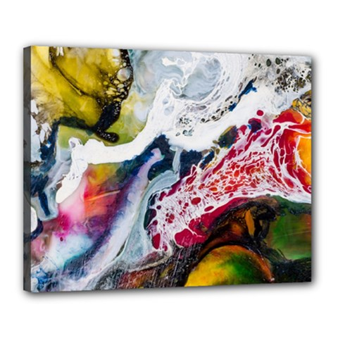 Abstract Art Detail Painting Canvas 20  X 16