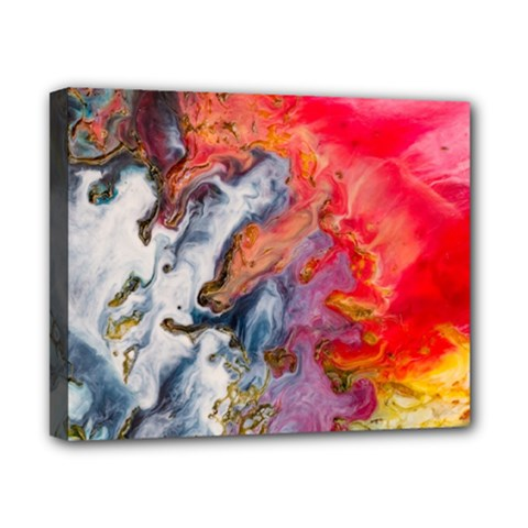 Art Abstract Macro Canvas 10  X 8