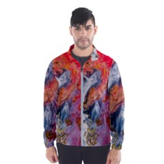 Art Abstract Macro Wind Breaker (men)