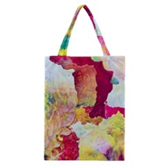 Art Detail Abstract Painting Wax Classic Tote Bag