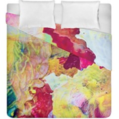 Art Detail Abstract Painting Wax Duvet Cover Double Side (king Size)