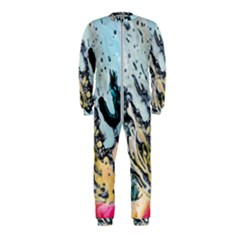 Abstract Structure Background Wax Onepiece Jumpsuit (kids)