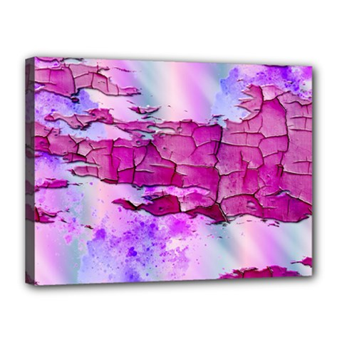 Background Crack Art Abstract Canvas 16  X 12