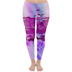 Background Crack Art Abstract Classic Winter Leggings