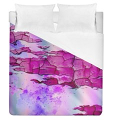 Background Crack Art Abstract Duvet Cover (queen Size)