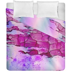 Background Crack Art Abstract Duvet Cover Double Side (california King Size)