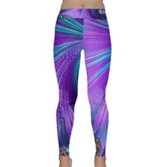 Abstract Fractal Fractal Structures Classic Yoga Leggings