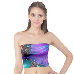 Abstract Fractal Fractal Structures Tube Top