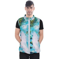 Abstract Art Modern Detail Macro Men s Puffer Vest