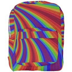 Abstract Pattern Lines Wave Full Print Backpack