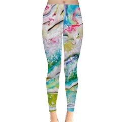 Art Abstract Abstract Art Leggings