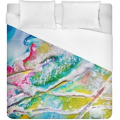 Art Abstract Abstract Art Duvet Cover (king Size)