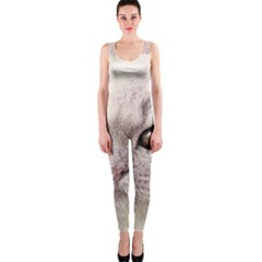 Cat Pet Cute Art Abstract Vintage One Piece Catsuit