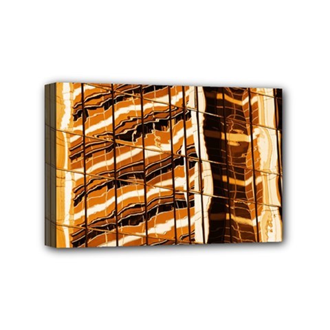 Abstract Architecture Background Mini Canvas 6  X 4