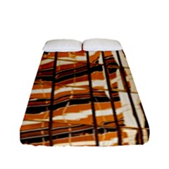 Abstract Architecture Background Fitted Sheet (full/ Double Size)