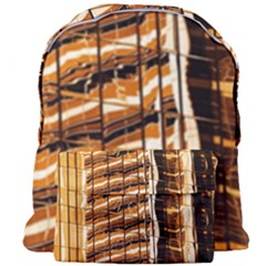 Abstract Architecture Background Giant Full Print Backpack