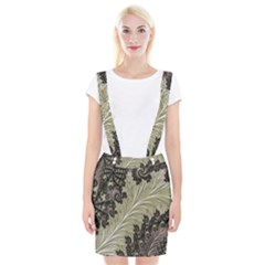 Pattern Decoration Retro Braces Suspender Skirt