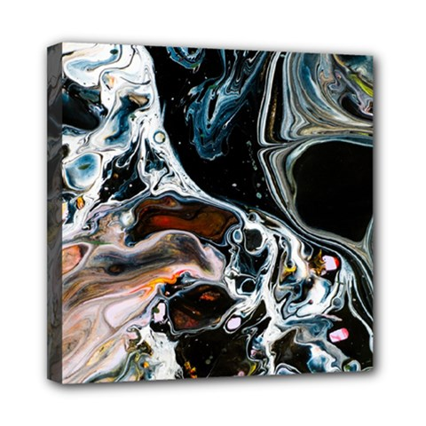 Abstract Flow River Black Multi Function Bag