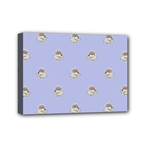 Monster Rats Hand Draw Illustration Pattern Mini Canvas 7  X 5