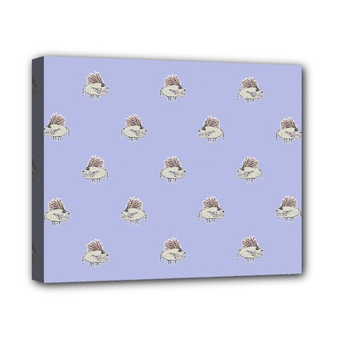Monster Rats Hand Draw Illustration Pattern Canvas 10  X 8