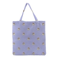 Monster Rats Hand Draw Illustration Pattern Grocery Tote Bag