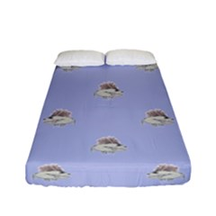 Monster Rats Hand Draw Illustration Pattern Fitted Sheet (full/ Double Size)