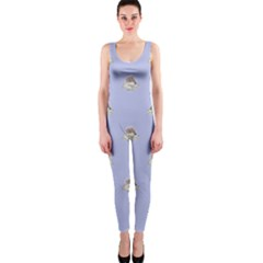 Monster Rats Hand Draw Illustration Pattern One Piece Catsuit