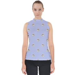 Monster Rats Hand Draw Illustration Pattern Shell Top