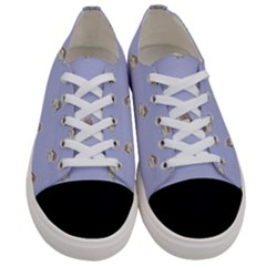 Monster Rats Hand Draw Illustration Pattern Women s Low Top Canvas Sneakers