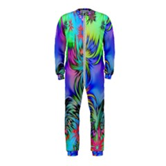 Star Abstract Colorful Fireworks Onepiece Jumpsuit (kids)