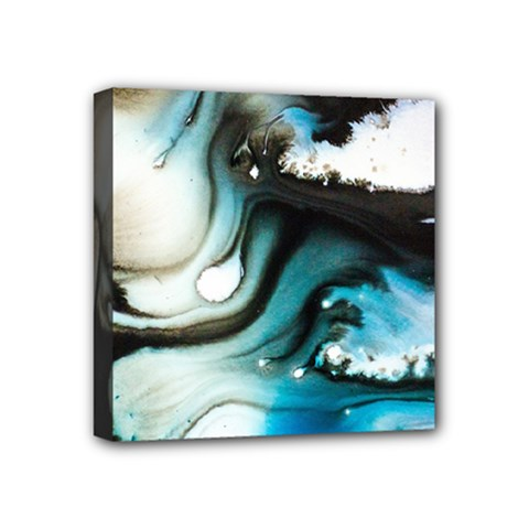 Abstract Painting Background Modern Mini Canvas 4  X 4