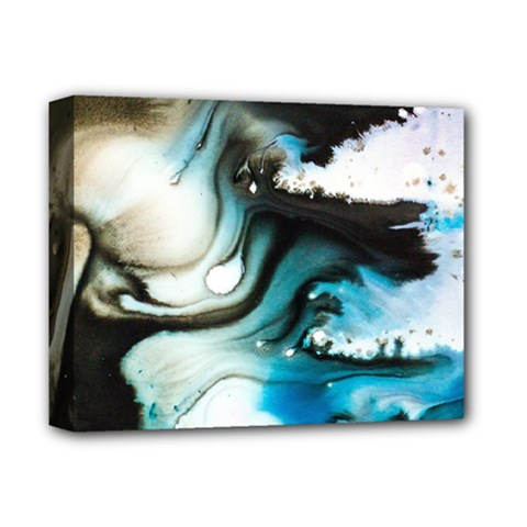 Abstract Painting Background Modern Deluxe Canvas 14  X 11