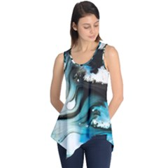 Abstract Painting Background Modern Sleeveless Tunic