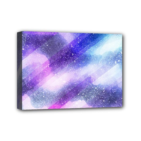 Background Art Abstract Watercolor Mini Canvas 7  X 5