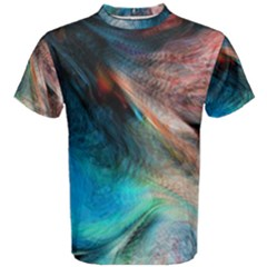 Background Art Abstract Watercolor Men s Cotton Tee