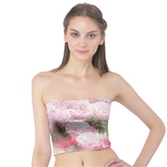 Flowers Roses Art Abstract Nature Tube Top