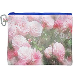 Flowers Roses Art Abstract Nature Canvas Cosmetic Bag (xxxl)