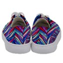 Texture Pattern Fabric Natural Kids  Low Top Canvas Sneakers View4