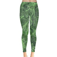 Geological Surface Background Leggings