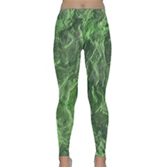 Geological Surface Background Classic Yoga Leggings