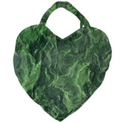 Geological Surface Background Giant Heart Shaped Tote