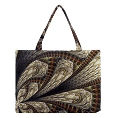 Fractal Abstract Pattern Spiritual Medium Tote Bag