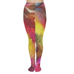 Background Art Abstract Watercolor Women s Tights