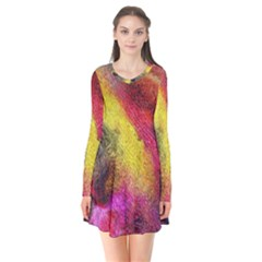 Background Art Abstract Watercolor Flare Dress