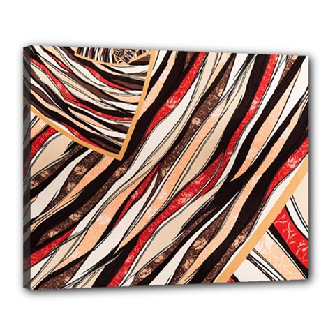Fabric Texture Color Pattern Canvas 20  X 16