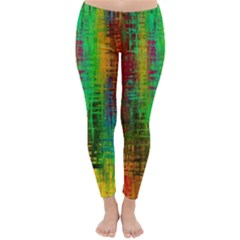 Color Abstract Background Textures Classic Winter Leggings