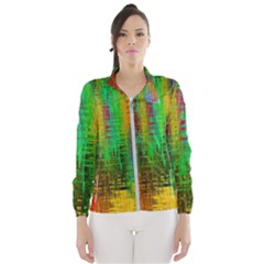 Color Abstract Background Textures Wind Breaker (women)